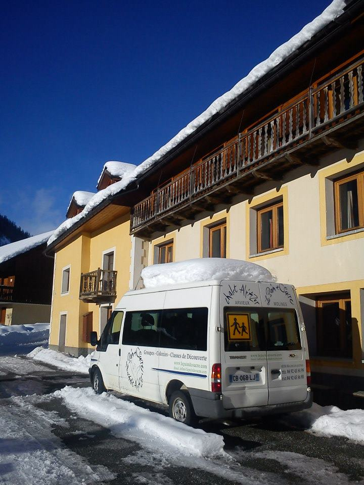chalet-camion